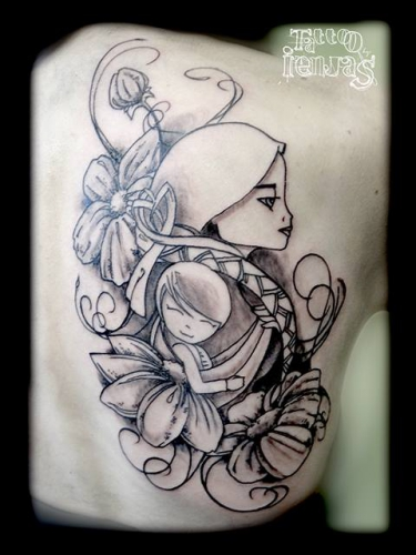 tattoo, bodydesign, babywearing